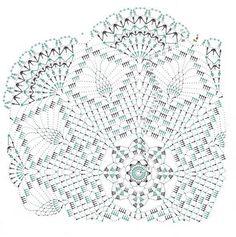 Kira scheme crochet: Scheme crochet no. 590