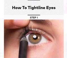 How To Tightline Eyes #Beauty #Musely #Tip
