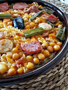ARROZ AL HORNO ( Arròs al forn ) - RECETAS DE MACUMANI