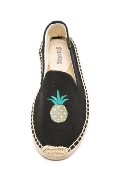 Pineapple Smoking Slipper Espadrilles - Shop the Trend: How to Rock Pineapple Prints - Photos