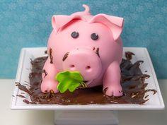 Schweinchen Torte oder viel Glück im neuen Jahr! {Video} - Ofenkieker