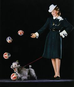 "Vogue 1943 From your friends at phoenix dog in home dog training""k9katelynn"" see more about Scottsdale dog training at k9katelynn.com! Pinterest with over 18,600 followers! Google plus with over 120,000 views! You tube with over 400 videos and 50,000 views!! Serving the valley for 11 plus years Twitter 200 plus!"