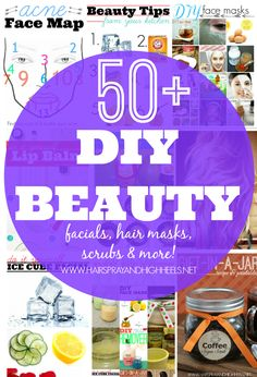 50+ DIY Beauty                                                                                                            Hairspray and