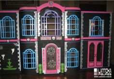 monster high doll house | Monster High Jennifer: enero 2013