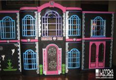 monster high doll house | Monster High Jennifer: enero 2013