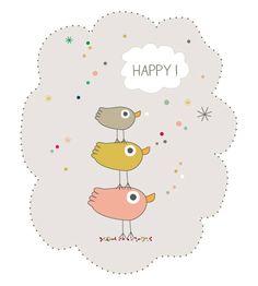Amelie Biggs_3 oiseaux happy