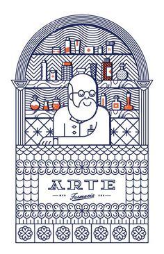 Farmacia Arte on Behance: