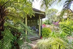 Property for sale in Wainuiomata, Lower Hutt, presented by Wayne Barton and Tui Reid, powered by ® Porch Gazebo, Tropical Gardens, New Zealand, Property For Sale, Bliss, Patio, Places, Terrace, Porch
