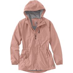 The Carhartt Women's Rockford Jacket is a waterproof jacket for taking on the rainy days. Earn up to back in Moosejaw Reward Dollars on every order. Fall Winter Outfits, Winter Fashion, Coats For Women, Jackets For Women, Women's Jackets, Camping Outfits, Pink Jacket, Sweater Jacket, Bomber Jacket