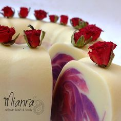 The Soap Bar....looks good enough to eat!