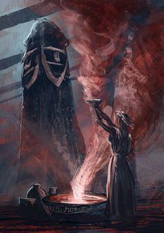 The Temple Svyatovit High Fantasy, Fantasy Art, Illustrations, Illustration Art, Myth Stories, Eslava, Anima Mundi, Pagan Witch, Witches
