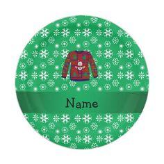 Christmas Holiday Snowflake Paper Plates 9\