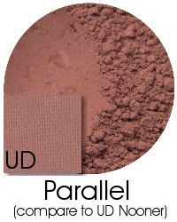 Parallel- pinky brown matte- compare to UD Nooner*