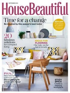 House Beautiful House Beautiful brings you inspiration and advice to help you live beautifully. From practical decorating and colour scheming tips, to those special details that make all the difference, we'll help you make the perfect home. House Beautiful, Beautiful Homes, Ikea Us, Compact Living, Study Space, Bathroom Styling, New Trends, New Kitchen, Room Inspiration