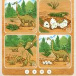 Moose & Zebra are back again and this time they are teaching children about dinosaurs. This is a great app with lots of fun and educational activities children will love.