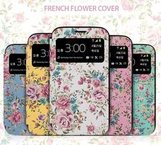 Arium Design French Bumper Flower View Coveris a 3 in 1 awesomecell phone cover. A bumper case to protect the back and the sides, a flip c...
