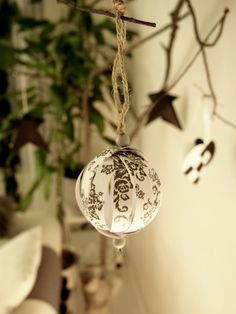 DIY easy christmas decoration