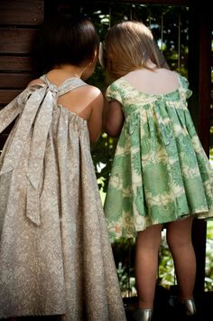 Exquisite Liberty of London dresses by Sophie's Lane