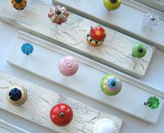 Customized Jewelry RackDesign Your Own 4 Knob by AuntDedesBasement, $27.00