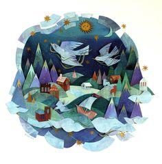 Collage Illustration, Collage Art, Art Collages, Tom Thomson, Driftwood Sculpture, Canadian Artists, Art Plastique, First Nations, Vincent Van Gogh