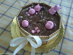 Pigs dirty bath birthday Cake