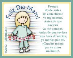 Dia de Mayo dia de las madres en   España, Chile, Paraguay; bolivia, Puerto Rico; Cuba, Usa y muchos mas ...     Muy muy feliz dia a todas ...