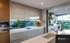 Bardon Residence Project by Darren James Interiors Brisbane. See photos of interior designs. Kitchen Design Gallery, Kitchen Design Open, Luxury Kitchen Design, Kitchen Cabinet Design, Luxury Kitchens, Home Kitchens, Home Decor Kitchen, Kitchen Interior, Latest Kitchen Designs