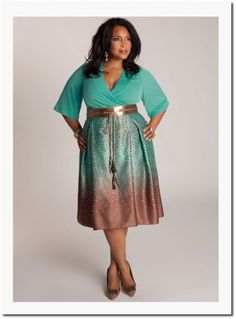 Pulling off 'Skinny' Looks- HOW TO.... Plus Size Dresses
