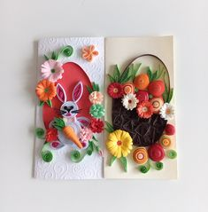 Easter handmade cards Quilling Ideas, Quilling Cards, Facebook Sign Up, Handmade Cards, Easter, Crochet, Crafts, Craft Cards, Manualidades