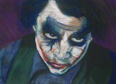the joker pastel