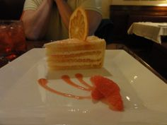 Grapefruit Cake from the Brown Derby at Disney's Hollywood Studios