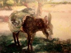 """argan grove"" - Original Fine Art for Sale - © elizabeth hutchinson"