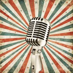 Vintage Microphone by Setsiri Silapasuwanchai - Vintage Microphone ...