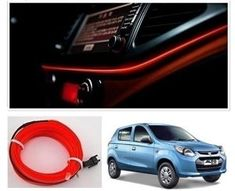 Maruti Suzuki Alto 800 Type-1 Car Dashboard 5M Car Interior Light RED Price-400/- Maruti Suzuki Alto, Car Body Cover, Police Lights, Reverse Parking, Car Seat Cushion, Wooden Car, Roof Rails, Roof Light, Interior Lighting