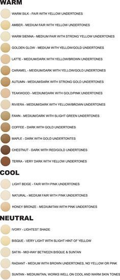 Hair color chart skin tone make up ideas Writing Help, Writing A Book, Fiction Writing, Writing Skills, Writing Prompts, Skin Color Chart, Skin Undertones, Warm Undertone Foundation, Foundation Shade