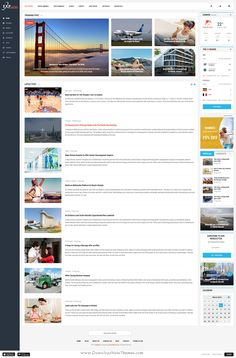 ExpNews is perfect premium PSD #template for bloggers, writers, online #news or magazine #websites. Download Now!
