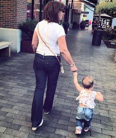 "1,603 Likes, 24 Comments - Daniela Ruah (@danielaruah) on Instagram: ""My girls... #grandma #granddaughter ♥️ @catlikob #SierraEsther #walk As minhas meninas... #vovó…"""