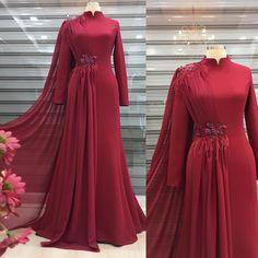 Abaya Fashion, Kimono Fashion, Fashion Dresses, Hijab Outfit, Bridal Outfits, The Dress, Beauty Care, Formal Dresses, Wedding Dresses