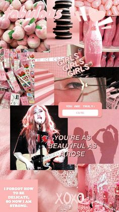 Aesthetic Wallpaper Collage Blackpink 68 New Ideas Rose Pink Wallpaper, Lisa Blackpink Wallpaper, Pink Wallpaper Iphone, Pink Iphone, Trendy Wallpaper, Retro Wallpaper, Aesthetic Roses, Aesthetic Collage, Kpop Aesthetic