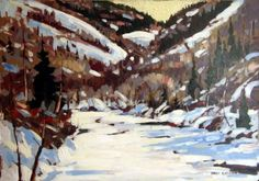 Mark Brennan, Painting The Wild Places: February 2009