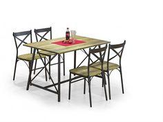 Jídelní set Reliant 4+1 – HALMAR Moderní jídelní set Reliant v jednoduchém stylu, který se hodí do každé jídelny za výhodnou cenu. Jídelní set obsahuje jídelní stůl a 4 židle. Stůl je vyroben v kombinaci … Outdoor Tables, Outdoor Decor, Outdoor Furniture, Home Decor, Dining Sets, Dinner Sets, Decoration Home, Room Decor, Dining Room Furniture