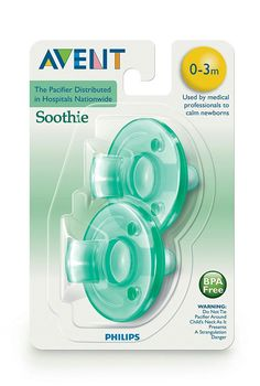 Avent soothe pacifiers