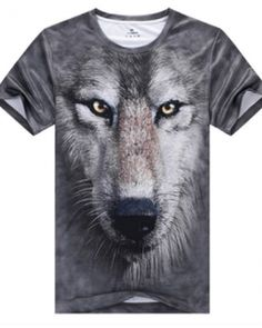 The Mountain Adult Unisex T-Shirt - Black And White Wolf Face Wolf T-shirt, Wolf Face, Big Wolf, White Wolf, Black And White, Gray Wolf, Black Tops, Big Face, 3d T Shirts