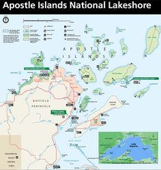 Apostle Islands Cave Kayaking