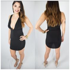 Sexy black dress, Vegas dress, date night dress, party dress, Club ...
