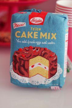 pochette gateau cake mix gladee