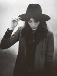 Florence Welch: I've been wondering if I could wear a hat like this, by as she's got a fairly similar shaped face maybe I'm good to go.