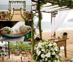 Mimos da Kikeka: Casamento na praia