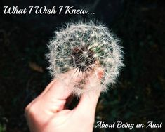 What I Never Knew About Being An Aunt | Through Clouded Glass