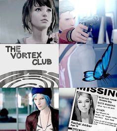 Life is strange | Chloe | Max | Rachel | Nathan | via: the -songbird